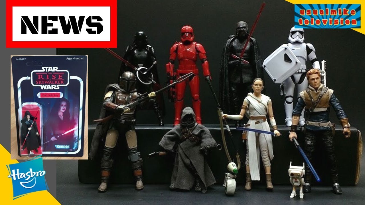 Star Wars Action Figures News Of Rumored Black Series The Mandalorian And Jedi Fallen Order Figures Youtube