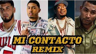 Rochy RD - Mi Contacto REMIX Ft Don Omar x Ozuna x Myke Towers x Anuel AA x Daddy Yankee x Bad Bunny