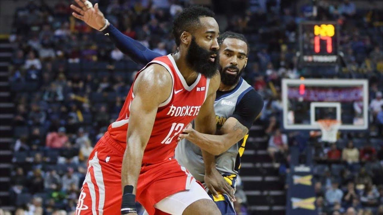 2b02dbb72db2 James Harden 57 Points OT vs Grizzlies! 2018-19 NBA Season - YouTube
