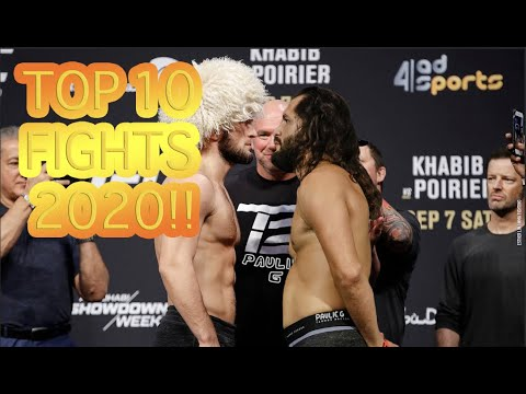 TOP 10 UFC Fights For 2020