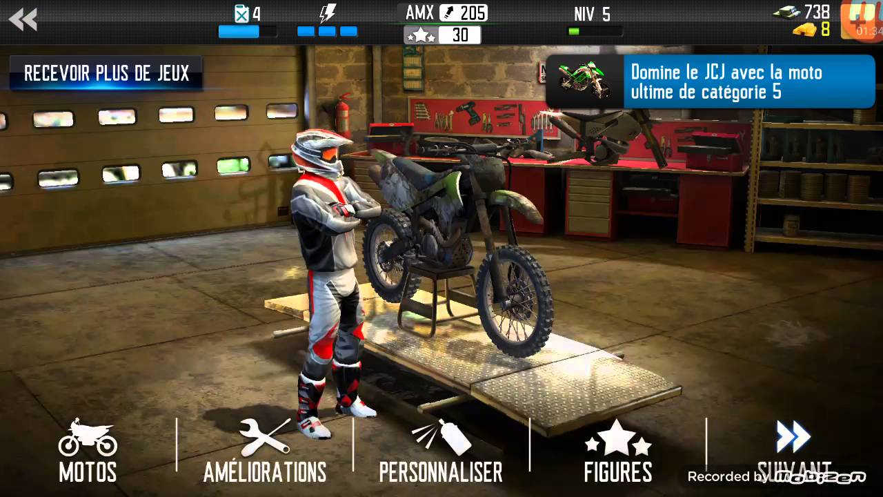 jeux video moto cross