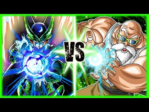 Perfect Cell Vs Budget Increase Roshi