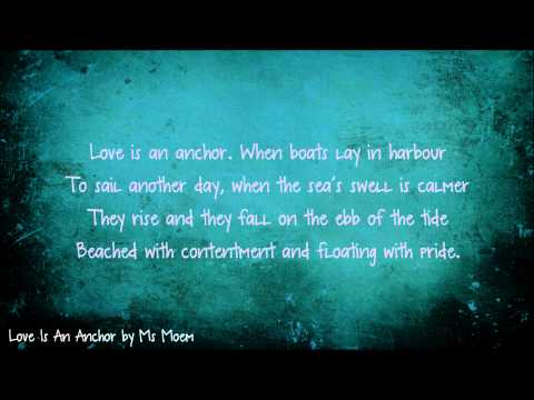 Love Is An Anchor | Wedding Reading Poem