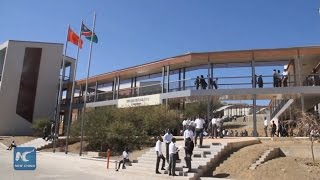 China-aided Chairman Mao Zedong School in Namibia opens