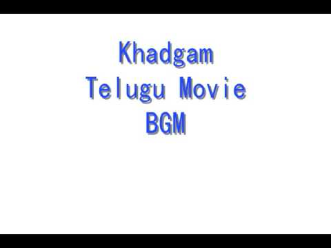 Khadgam BGM