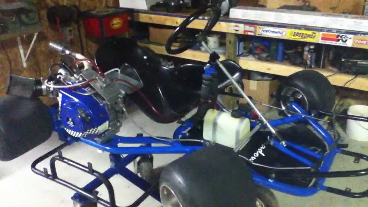 1999 Shadow flat kart with an AKRA legal clone and tires $700