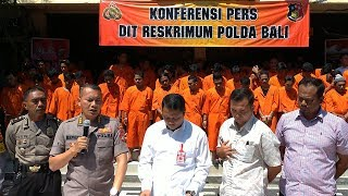 Download Video 21 Hari Operasi Pekat di Bali, Polisi Amankan 243 Tersangka MP3 3GP MP4