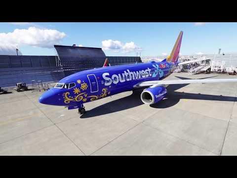 Southwest Airlines N7816B Boeing 737-700 Pixar COCO Painting丨西南航空 波音 N7816B 737-700 彼思《玩轉極樂園》塗裝