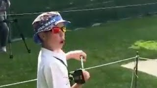 PGA Pro Misses Cut, Promptly Gives Putter to Kid thumbnail