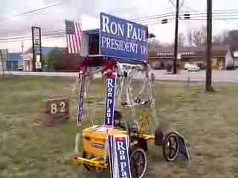 Have Ron Paul Political Machine, will travel.