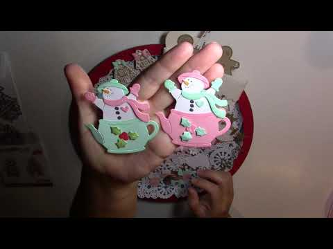 Getting Ready For Christmas - New Dies From Elizabeth Craft & Cottage Cutz