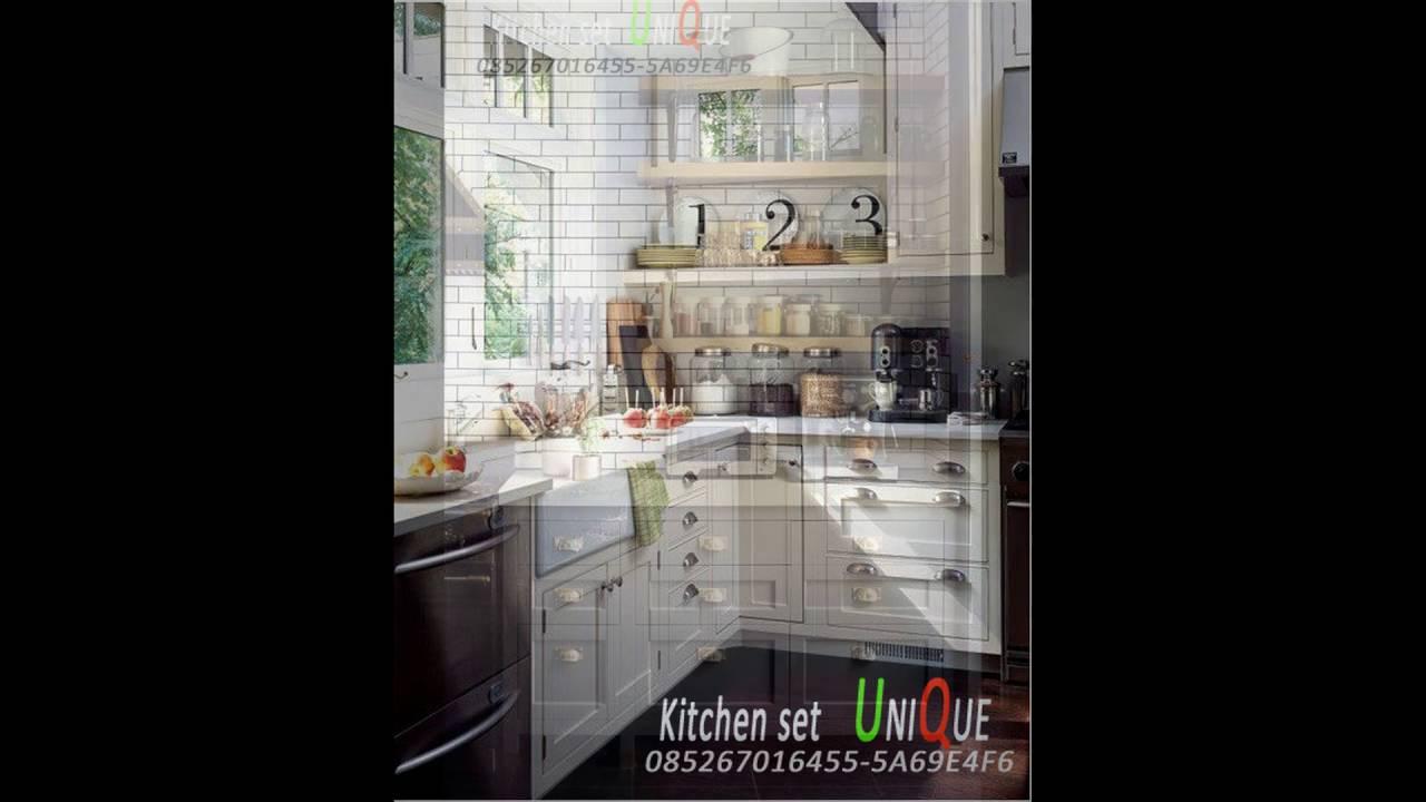 Model Kitchen Set Minimalis Desain Kitchen Set Minimalis Terbaru