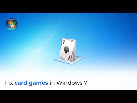 Fixing Windows 7 Card Games