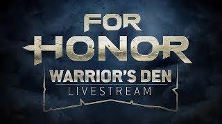 Warrior's Den Weekly Livestream - August 17th