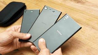 Обзор Sony Xperia XZ1, XZ Compact, XA1 Plus
