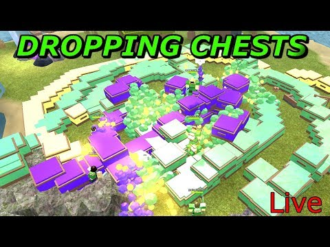 🌴DROPPING THOUSANDS OF CHESTS AND GIVING AWAY COINS! COME JOIN - ROBLOX BOOGA BOOGA🔴