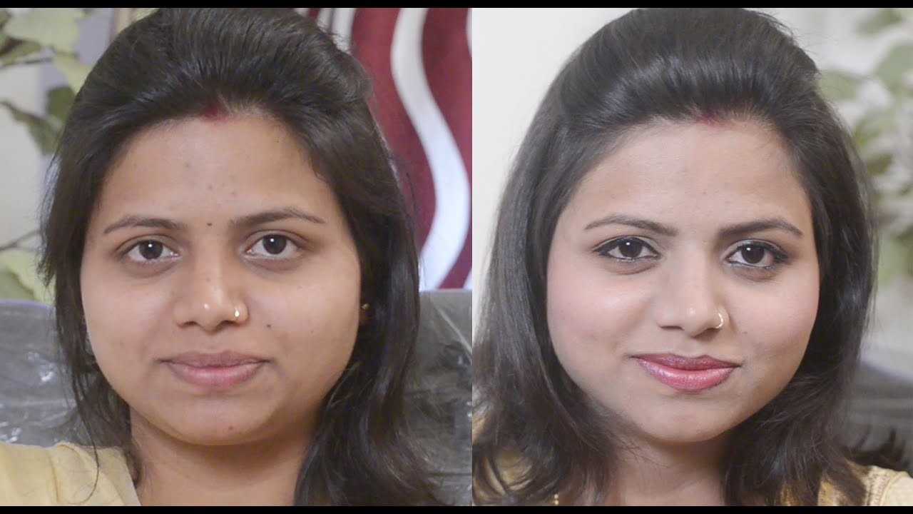 ���िपस्टिक ���र ���य ���ाइनर ���ैसे ���गाए Basic Eyemakeup & Lipstick Tutorial How To  Apply