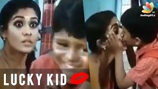 Nayanthara kiss on lips by School Boy | Thirunaal Movie Scene | Hot Tamil Cinema News