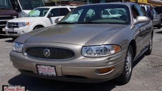 2000 Buick Lesabre Custom 3800 V6 Sedan