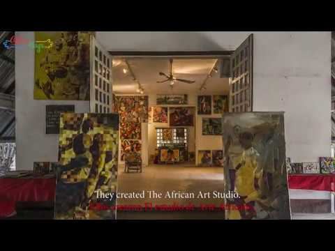 AFRICAHUGS & POTO POTO SCHOOL OF PAINTING, Brazzaville, Congo ( THE MAGIC OF BRUSHES )