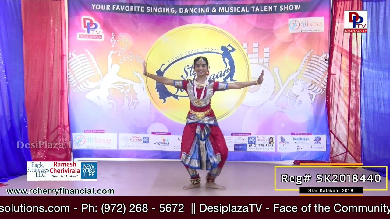 Participant Reg# SK2018-440 Performance - 1st Round - US Star Kalakaar 2018 || DesiplazaTV