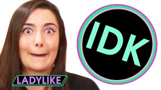 Ladylike Answers Friendship Questions • IDK