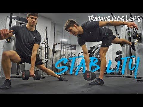 STABILITY LEG SESSION | Training Vlog 8