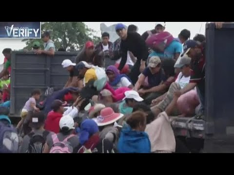 Verify: Are Middle Easterners in the migrant caravan?
