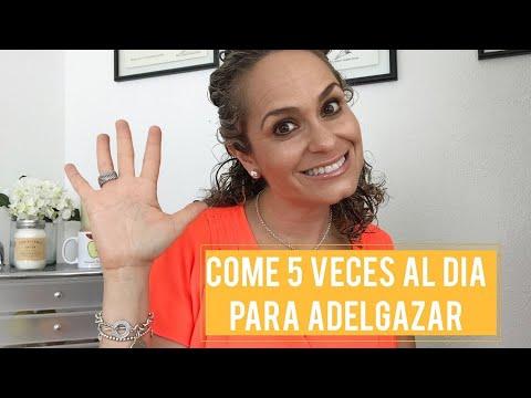 COMER 5 VECES AL DIA PARA ADELGAZAR . ANUTRICIONAL TV