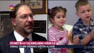 Diyanet'in Çocuk Kur'an Kurslarına Yoğun İlgi 2017 Video