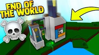 *NEW* END OF EARTH FACILITY!! 🌎☠️ | Build a boat for Treasure ROBLOX