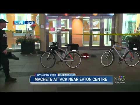 Attaque à la machette au Toronto Eaton Centre durant Noël