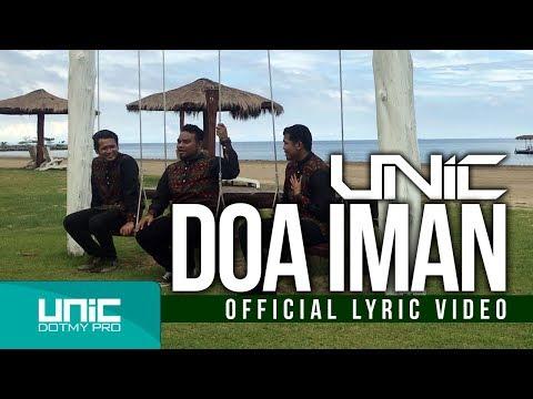 UNIC - DOA IMAN (OFFICIAL LYRIC VIDEO ᴴᴰ )
