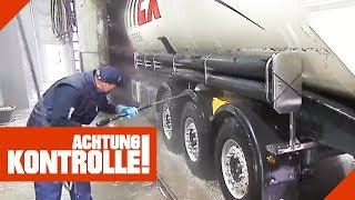 Die XXL LKW-Waschanlage! Echte Handarbeit! | Achtung Kontrolle | kabel eins