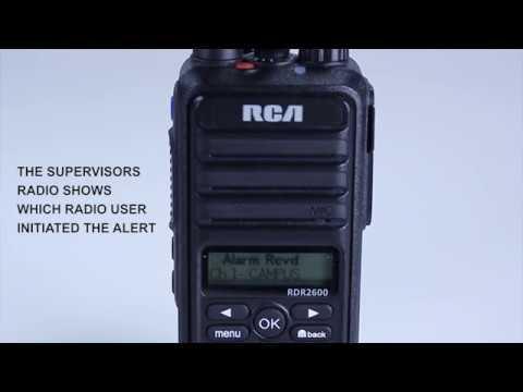 RDR2500 Professional DMR Digital Portable Radio