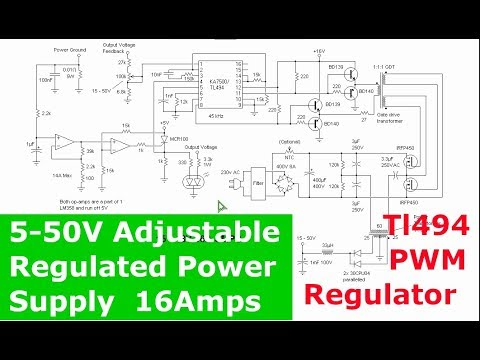 Full Download] 750watt Adjustable Switching Power Supply With Tl494