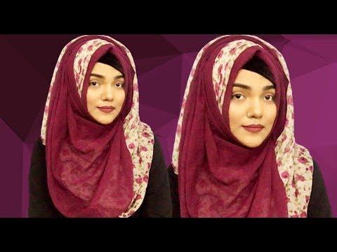Hijab Style With Two Hijab ||Mutahhara♥️