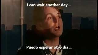 Paul McCartney - No More Lonely Nights (Subtitulada Inglés/Español)