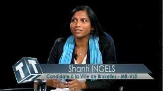 Khadija ZAMOURI et Shanti INGELS, candidates Open-VLD - Communales 2012 - Maghreb TV