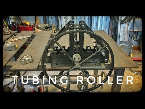 A Simple Tubing Roller