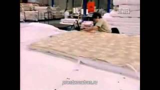 производство матрасов(Видео ролик от компании PROSTOMATRAS.RU о производстве матрасов., 2011-06-28T14:15:28.000Z)