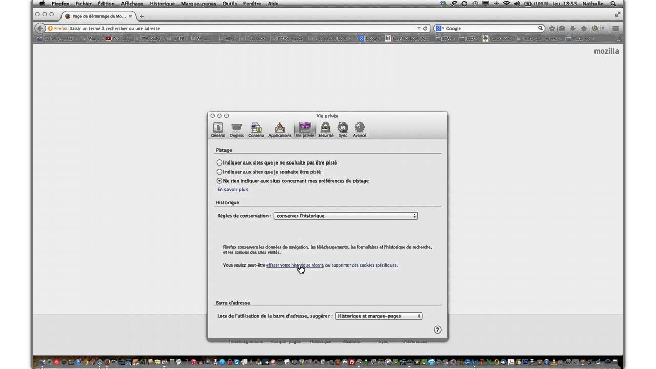 Comment Supprimer Les Cookies Sur Firefox Pour Mac Youtube