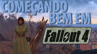 Fallout 4 - Começando bem no jogo | Bons itens no início.