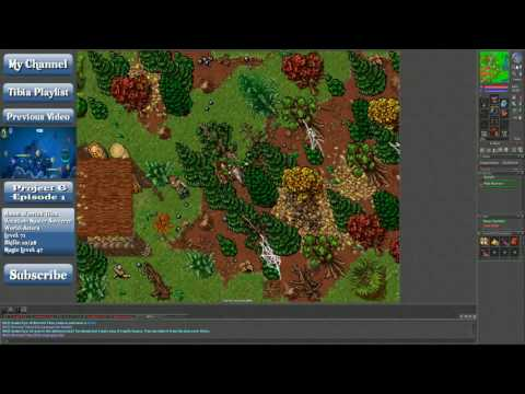 Lets Play Tibia: The Traveling Trader Quest. Mon, Tues, Weds (ENG)