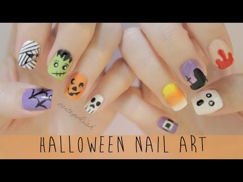 Nail art for halloween the ultimate guide youtube nail art for halloween the ultimate guide prinsesfo Choice Image