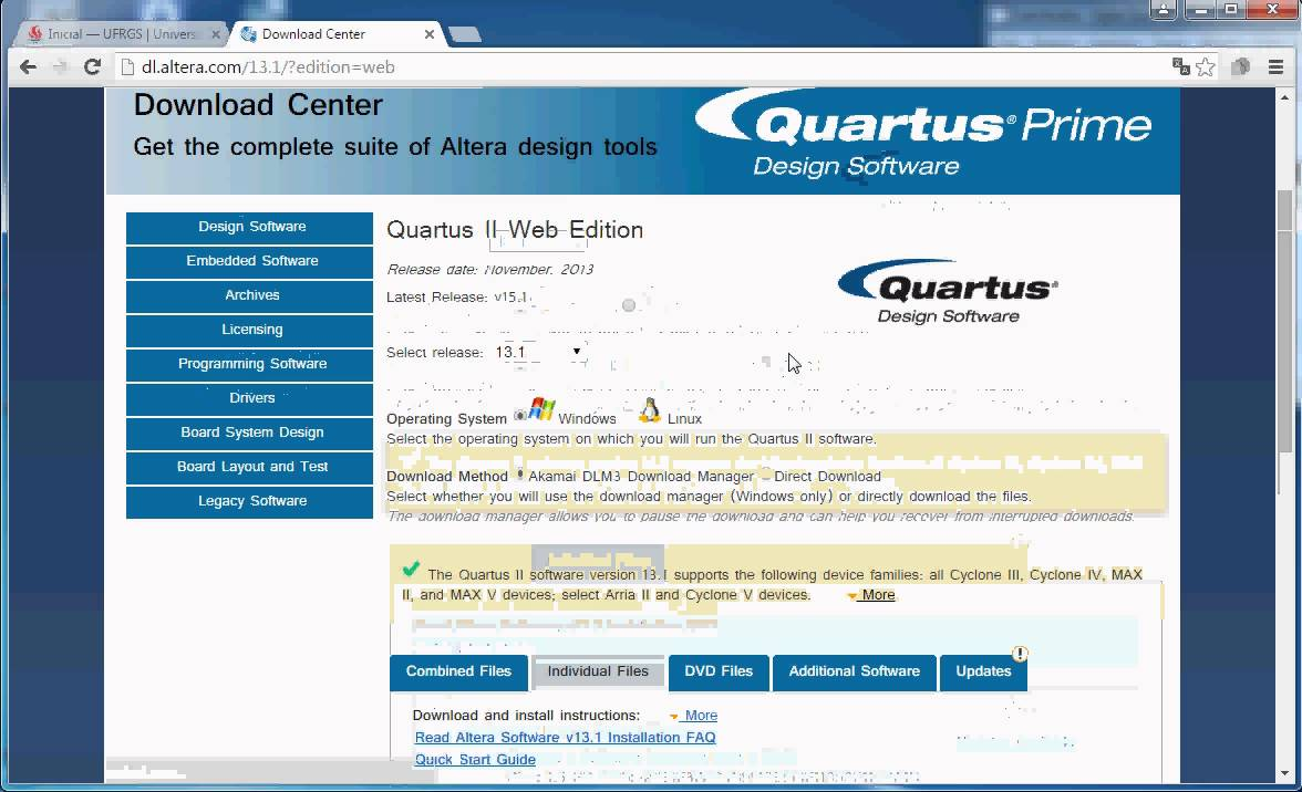 quartus 9.1 web edition