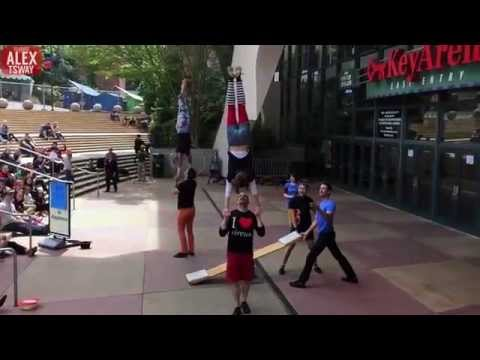 Amazing Street Circus in Seattle! Part 4