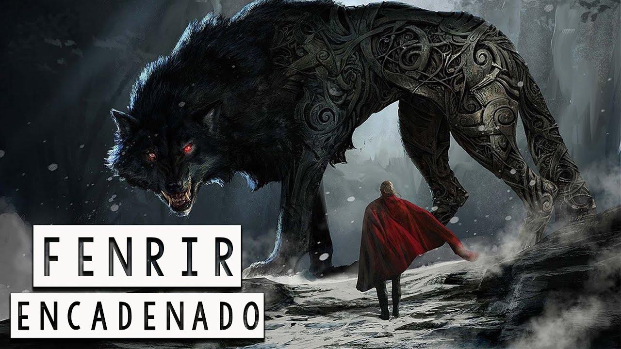 Fenrir Encadenado: Cómo los Dioses Atraparon al Peligroso Lobo de Ragnarok - Mitología Nórdica