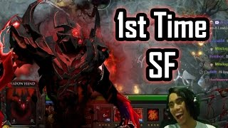 First Time Shadow Fiend - GLOCO DOTA 2 Stream