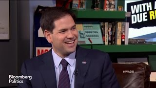Marco Rubio Takes Mark Halperin to School